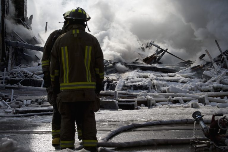 The Surprising Risks of Cold-Weather Firefighting